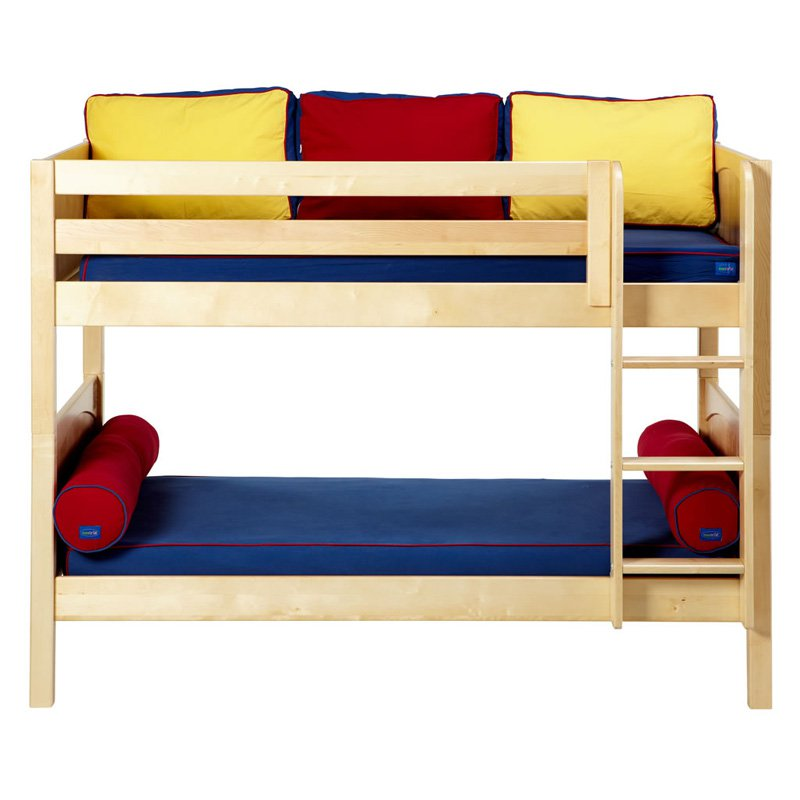 Hot Shot Twin over Twin Panel Bunk Bed