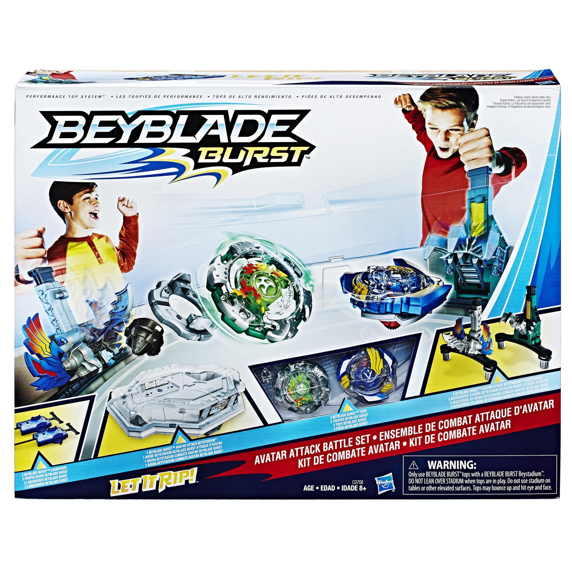 beyblade burst avatar attack battle set walmart com