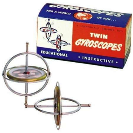 Game - Tedco Wild Science - Gyroscope/Twin Pak Learning Toys 00066