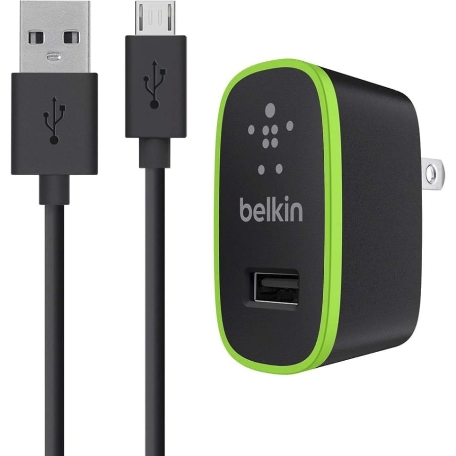 Belkin Universal Home Charger with Micro USB ChargeSync Cable - power adapter