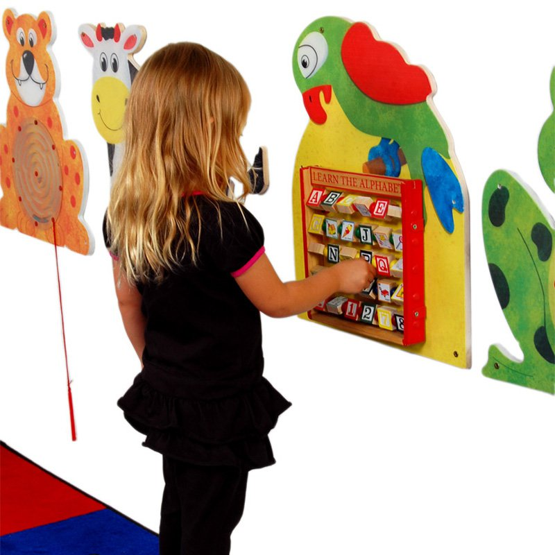 Anatex Parrot Activity Wall Panel