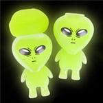 Glow in the Dark Alien Slime - 12 per pack](Glow Novelties Wholesale)