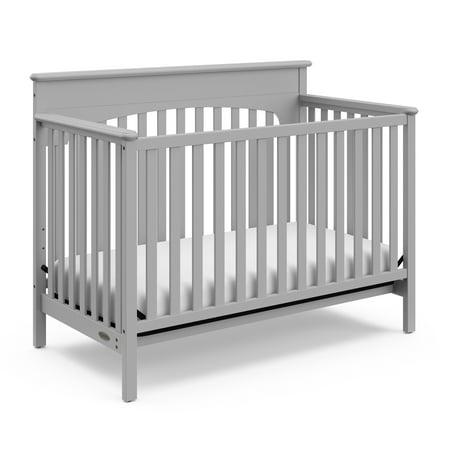 Graco Lauren 4 In 1 Convertible Crib Pebble Gray Walmart Com