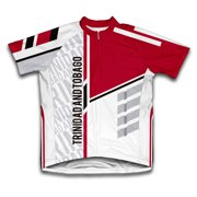Trinidad And Tobago ScudoPro Short Sleeve Cycling Jersey  for Men - Size XS