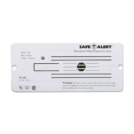 MTI Industries 30-442-P-WT Safe T Alert 30 Series Propane/LP Gas Alarm - Flush Mount, White