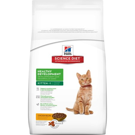Hills science diet kitten healthy development chicken recipe dry hills science diet kitten healthy development chicken recipe dry cat food 155 lb bag forumfinder Image collections