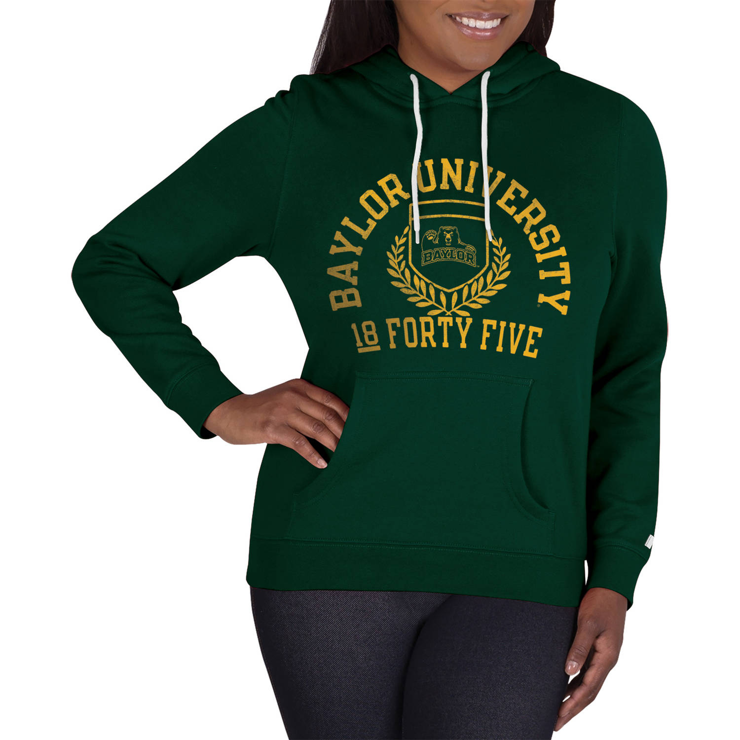 NCAA Baylor Bears Ladies Classic-Fit Pullover Hood