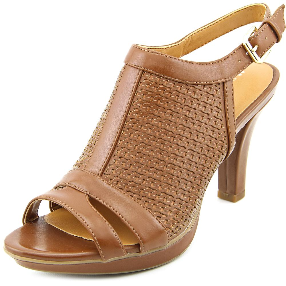Click here to buy Naturalizer Dania Women Open-Toe Synthetic Slingback Sandal by Naturalizer.