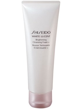 Shiseido White Lucent Brightening Cleansing Foam Wash, Face Wash for All Skin Types, 4.7 Oz