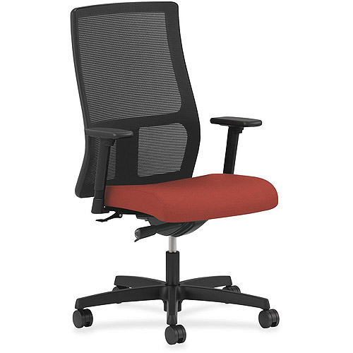 HON Ignition Seating Mesh Mid-Back Work Chair, Poppy