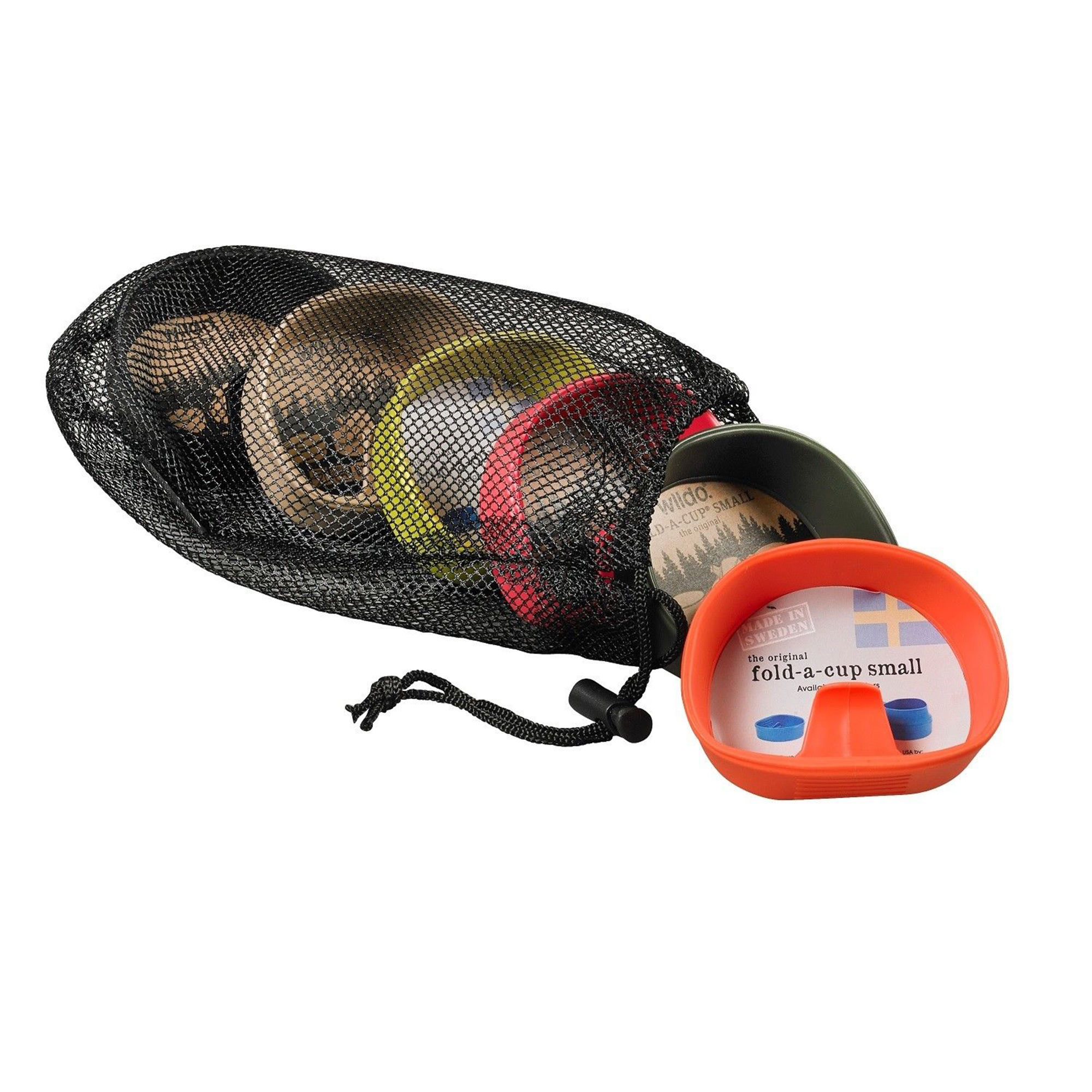 Proforce Equipment Wildo Fold-A-Cup 6 Pack Campware Set Multi Person Set, Hunting/Fishing Colors