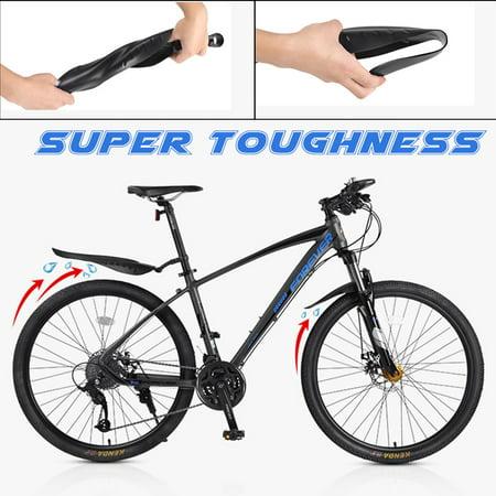 Bike Bicycle Front Rear Mud Guard Mountain Mudguards Splashboard 24/'/'-26/'/' New