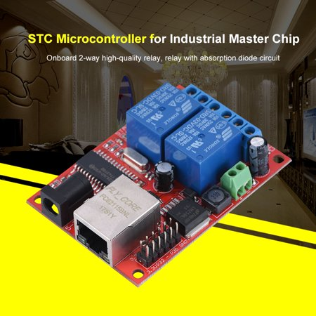 2 Way LAN Ethernet Relay Board Delay Switch TCP/UDP Controller Module WEB Server, Delay Relay Module, Relay Delay