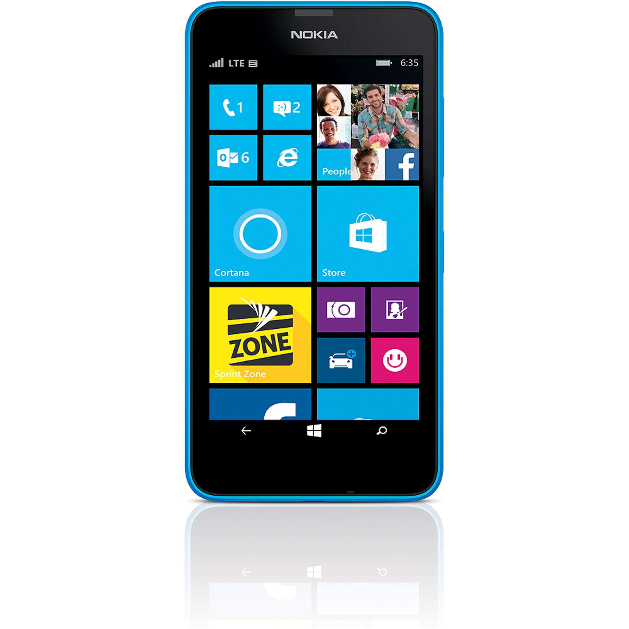 Nokia Lumia 635 Windows, No Contract, Boost Mobile Locked...