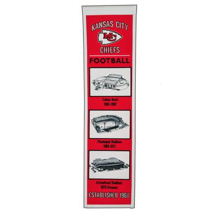 - Winning Streak - NFL Evolution Banner, Kansas City Chiefs