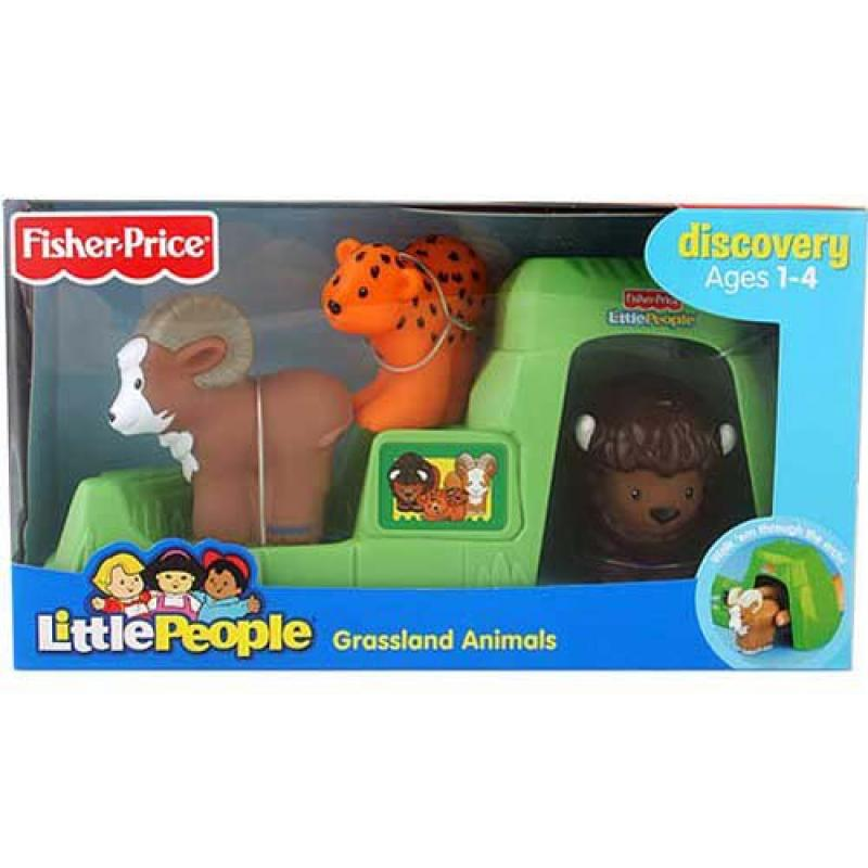 Fisher Price Little People Grassland Animals by Little People