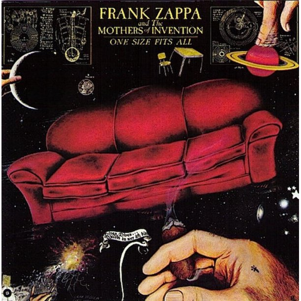 Frank Zappa One Size Fits All Vinyl Walmart Com Walmart Com