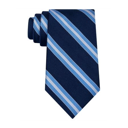 Club Room Mens Diagonal Stripe Necktie 411 One Size