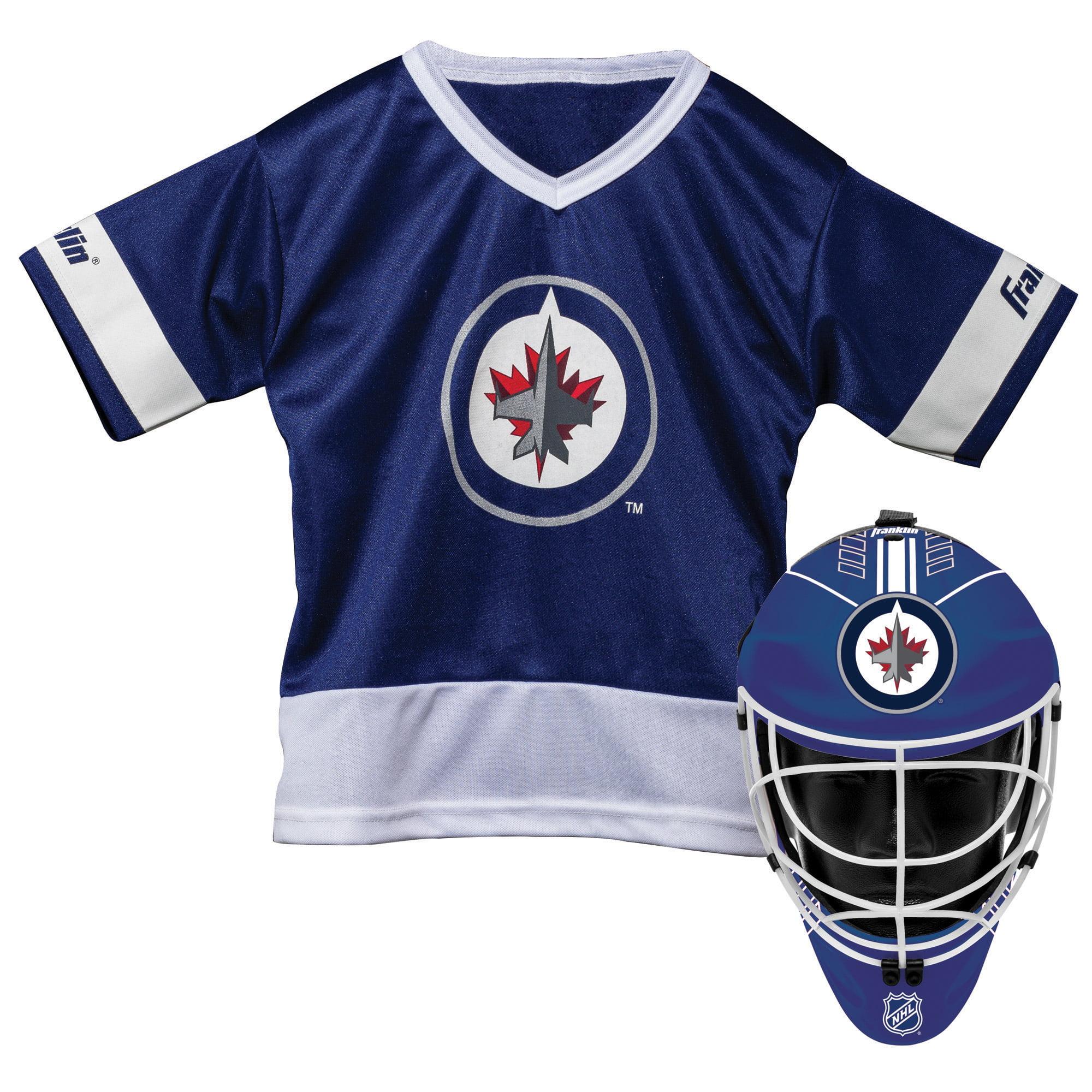 Franklin Sports NHL Winnipeg Jets Youth Team Uniform Set