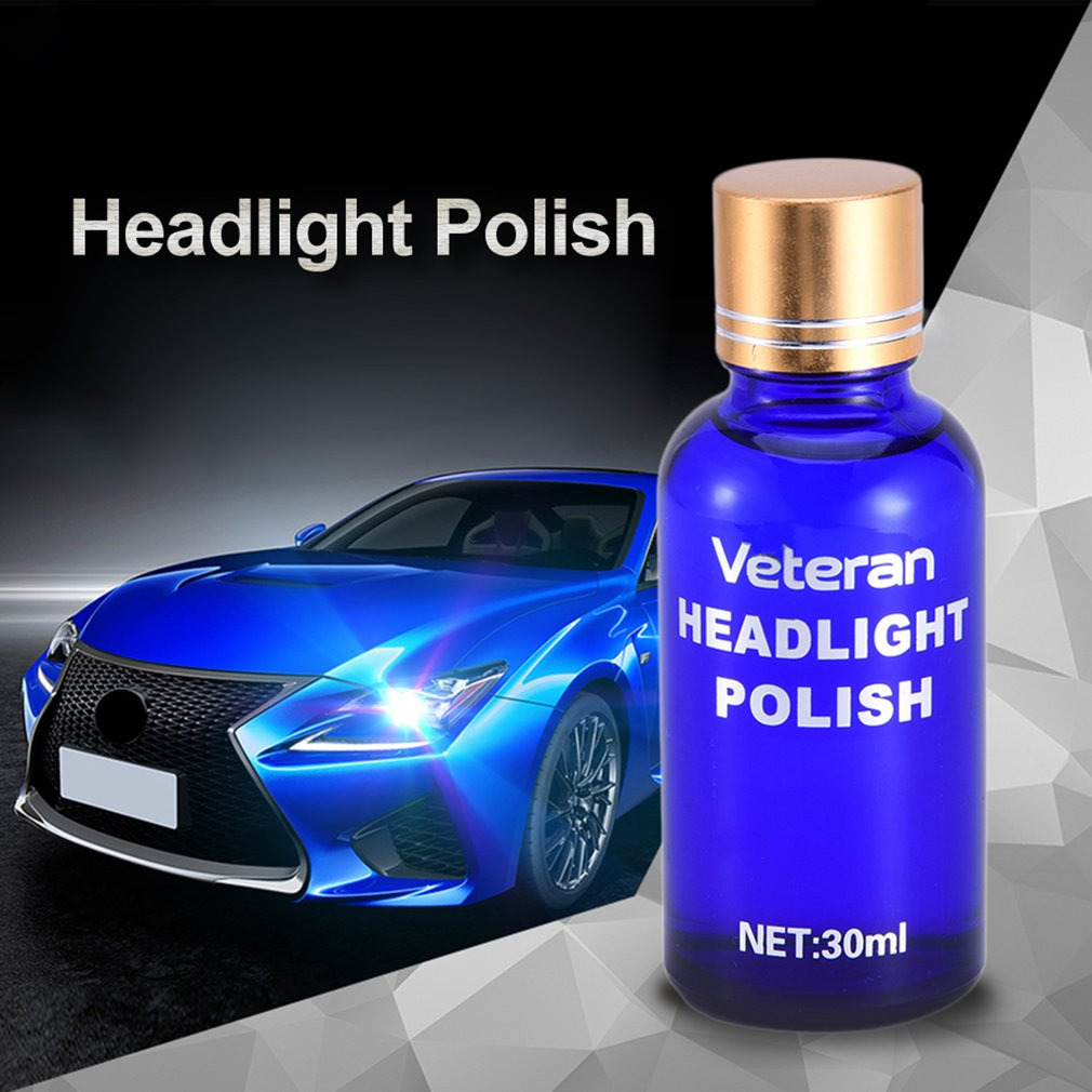 Car Headlamp Polishing Anti-scratch DIY For Car Increase Visibility Restoration Kit Auto Lamp Lenses Repair Liquid Polish