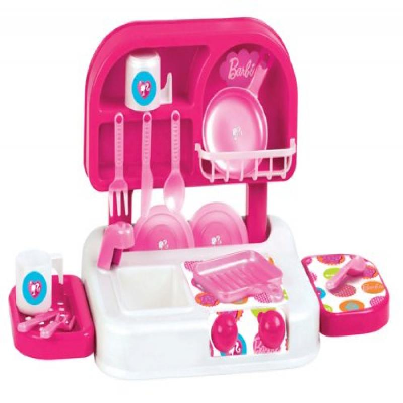 Play Kitchen Dishes little toy kitchen for children: barbie pretend play toy kitchen
