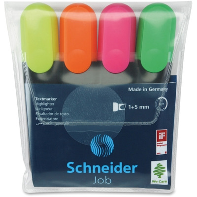 Stride Texmarker Highlighter 4-color Pack STW01500