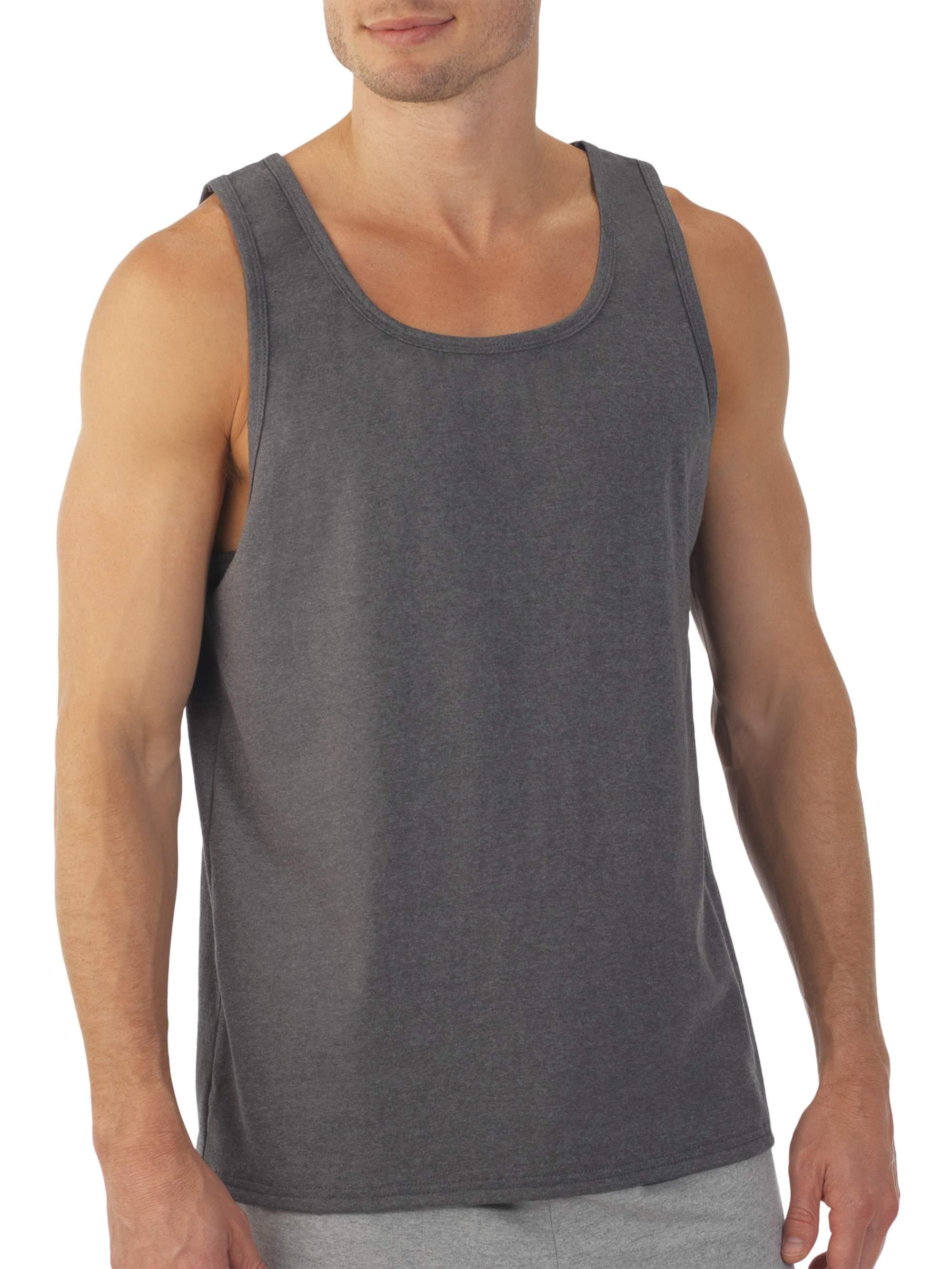 Men's Soft Jersey Tag Free Tank Top
