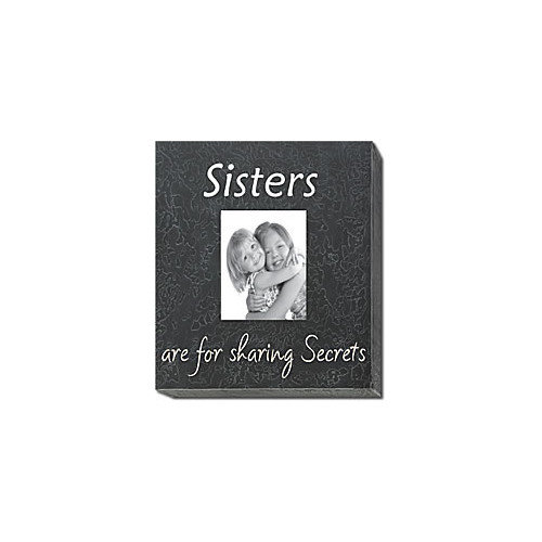 Forest Creations Sisters Are For Sharing Secrets Home Frame