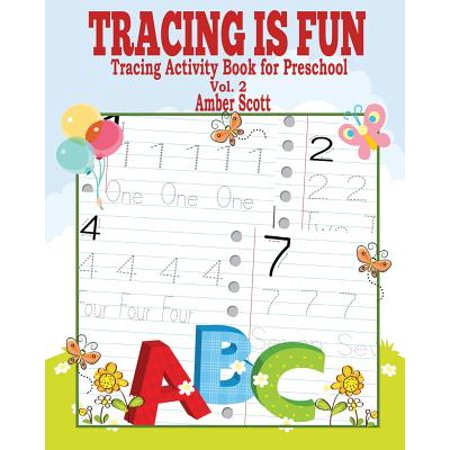Tracing Is Fun (Tracing Activity Book for Preschool) Vol. 2 (Best Preschool Halloween Activities)