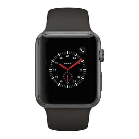 Apple Watch Series 2 - 38mm, WiFi - Space Gray with Gray Sport Loop - Scratch & Dent