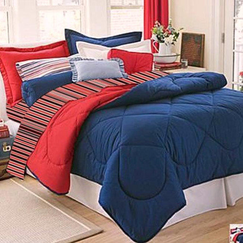 Lantrix Inc. Dorm Room In A Box 10 Piece Comforter Set