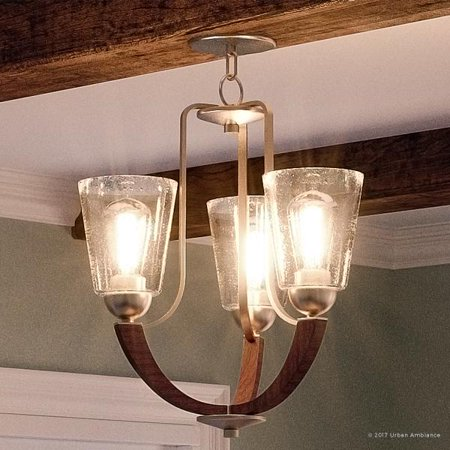 Urban Ambiance Luxury Vintage Chandelier, Medium Size: 20.25