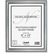 Glolite Nu-dell, NUD14281, NuDell Antique Silver Finish Wood Frame, 1 Each, Antique Silver Frame