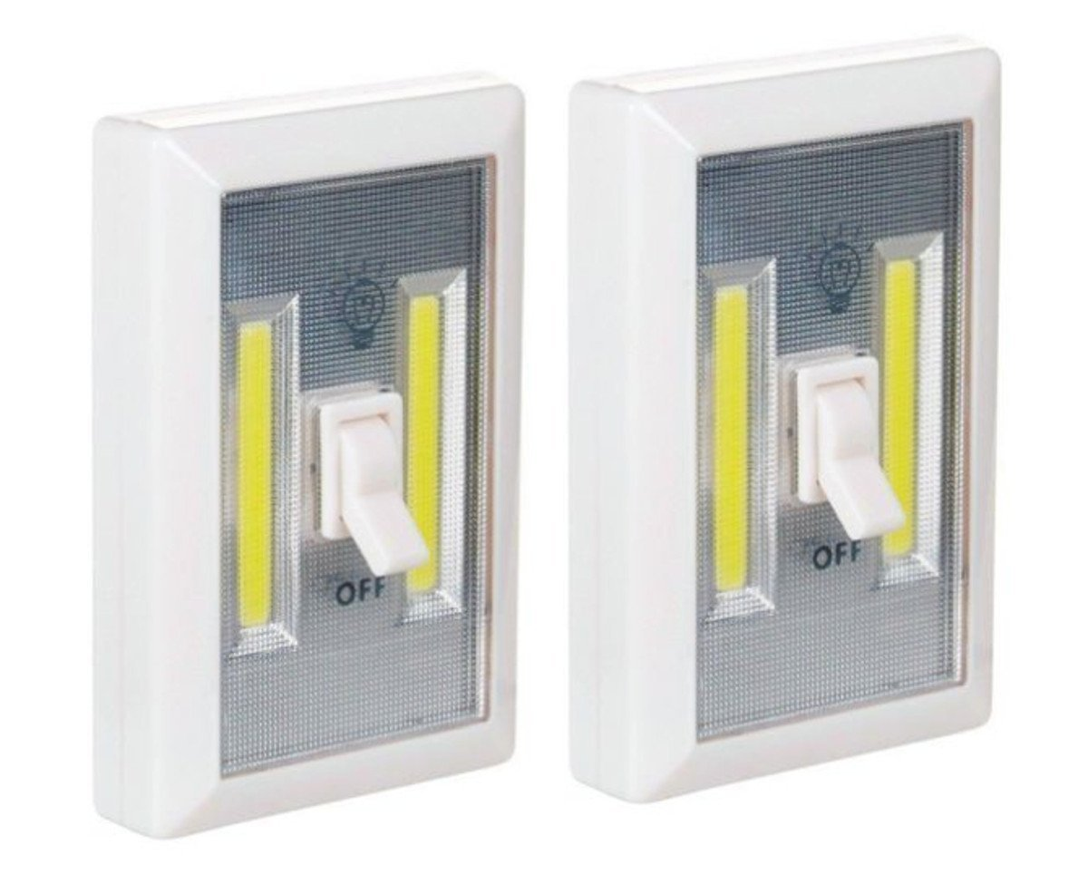 Promier Battery Operated LED Lights BATTERIES INCLUDED, Under Cabinet,  Shelf, Closet, Nightlight