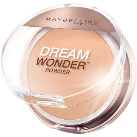 Cream Halloween Makeup - Maybelline New York Dream Wonder Powder, Cream Natural