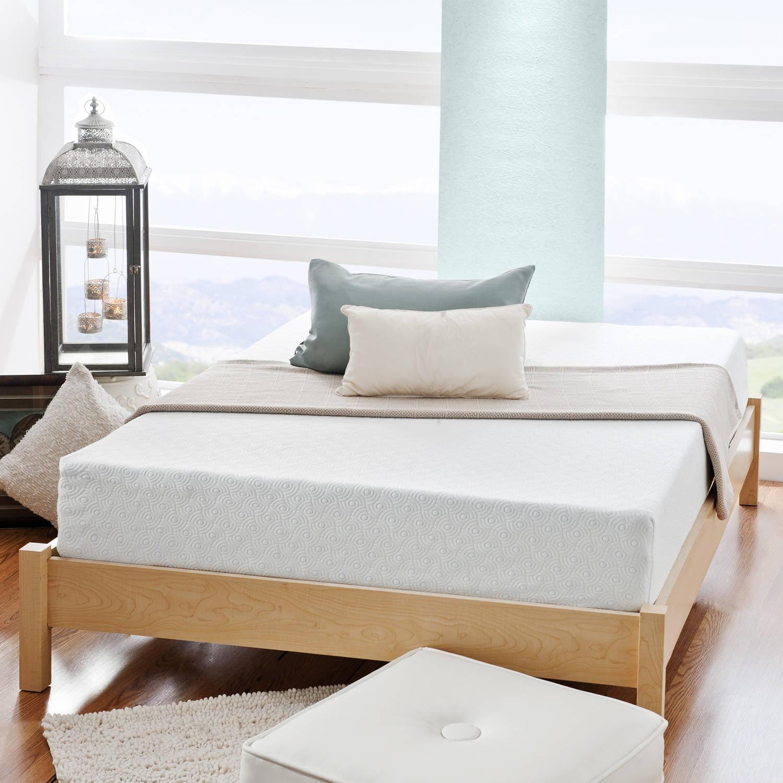 gel spa sensations 8 mygel memory foam mattress multiple sizes. Black Bedroom Furniture Sets. Home Design Ideas