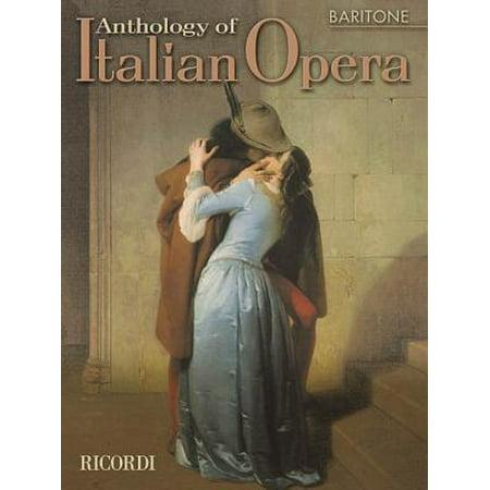 Anthology of Italian Opera : Baritone