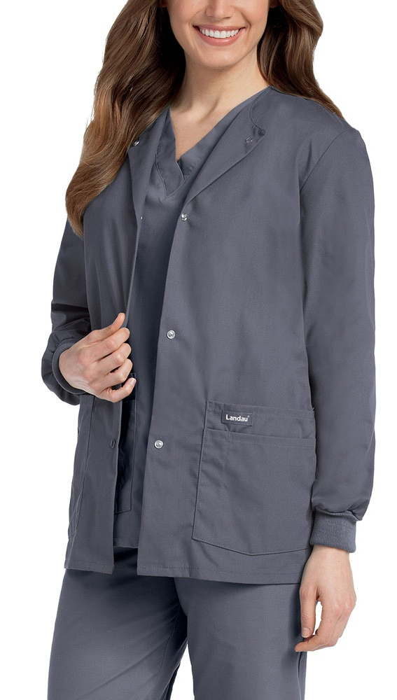 Landau - Landau Landau Women's Warm-Up Jacket Scrub Jacket ...