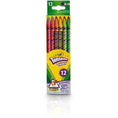 Crayola 12 Count Twistable Colored Pencils by Crayola