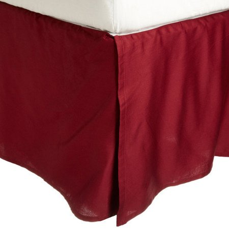 Superior 300 Thread Count Long-Staple Combed Cotton Solid Bed - Extra Long Bedskirt