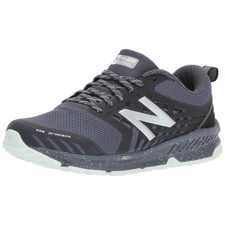 New Balance WTNTRLT1: Womens Nitrel v1 FuelCore Trail Thunder/Black Running Shoe (6 B(M) US