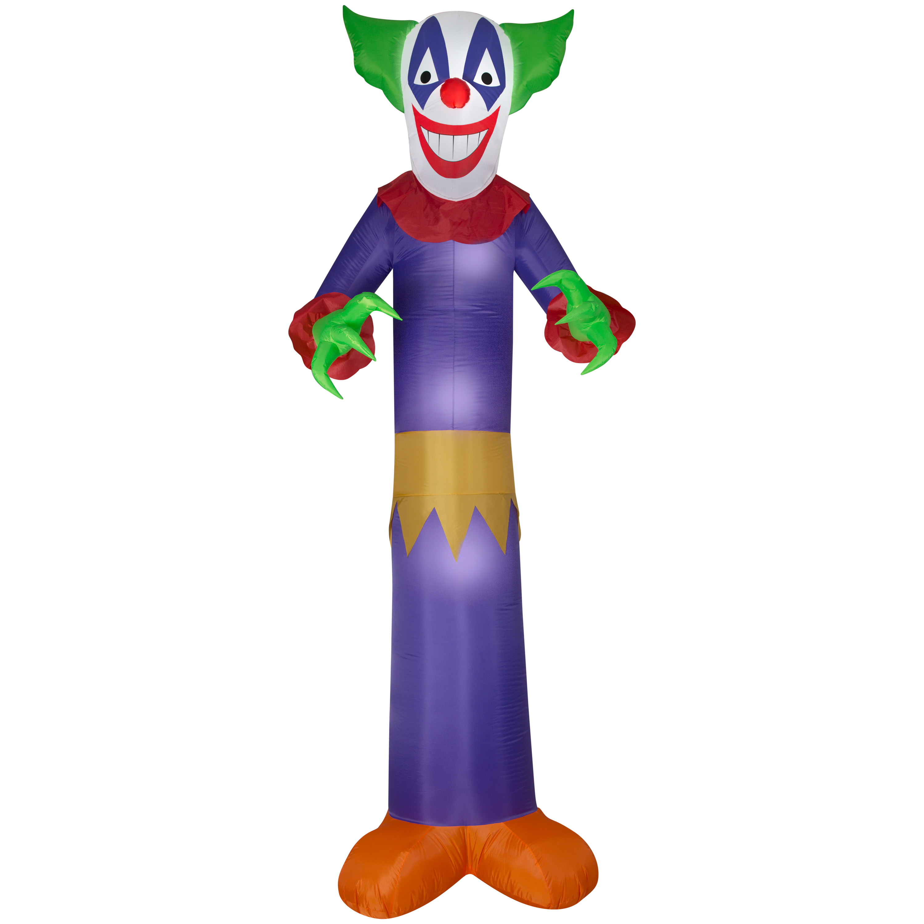 Adult Inflatable Evil Clown Costume |Halloween Clown Inflatables