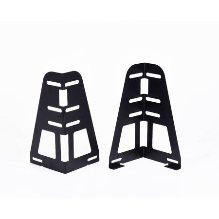 Headboard Brackets (Uma Headboard / Footboard Attachment Brackets For Bed Frame With Multiple Slots (Set Of Two) )