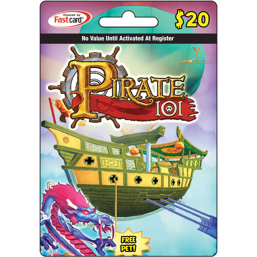 Kingsisle Pirate101 $20 Egift Card (emai ONLINE