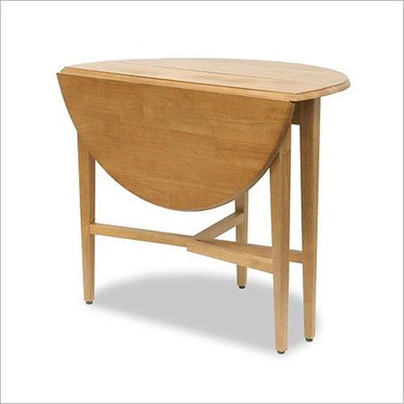 Basics Round Drop Leaf Kitchen Table -- 42 ()