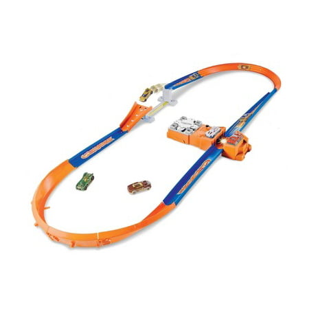 Hot Wheels Throwback Hot Curves Super Jump Trackset
