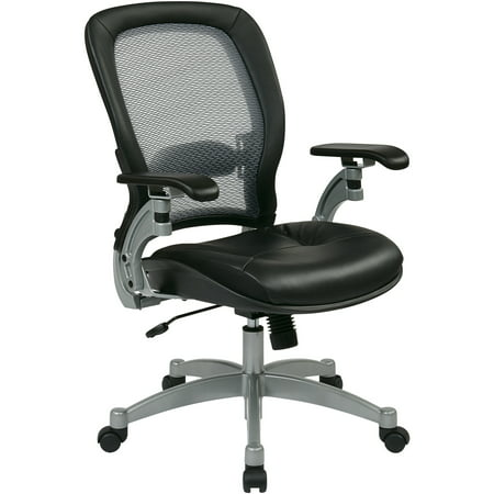 75 Office Star - Office Star, OSP3680, Space 3000 Professional Air Grid Back Managerial Mid-Back Chair, 1 Each, Black