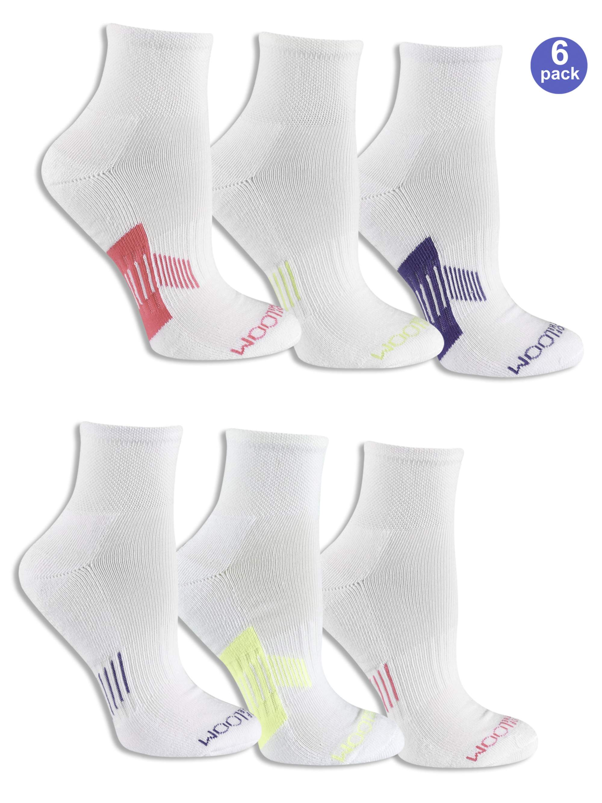 Women's Everyday Active Ankle Socks 6 Pack