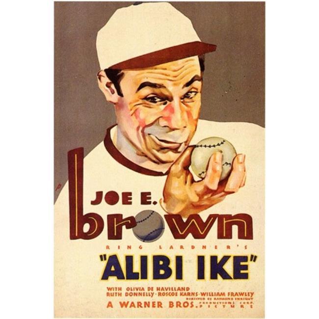Posterazzi MOV199264 Alibi Ike Movie Poster - 11 x 17 in. - image 1 of 1