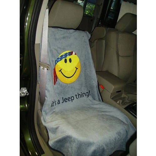 SeatArmour Jeep Tan Smiley Face Seat Armour